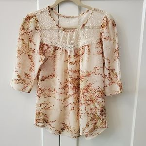 Forever 21 light weight blouse